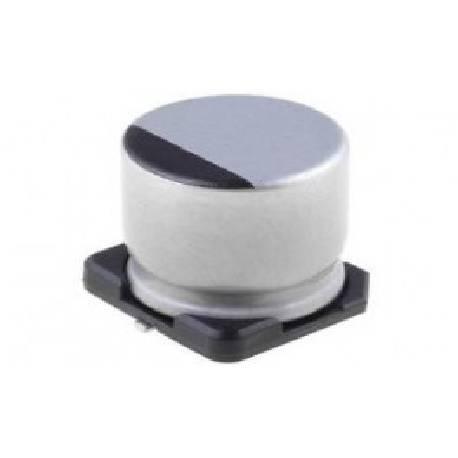 CONDENSADOR ELECTROLITICO SMD 10uF / 50V - 5,2x5,5mm