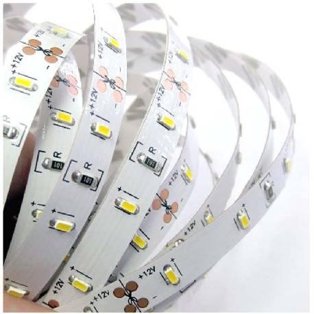 TIRA LED ECONOMICA 5 METROS 300 LEDS - SMD 3014 - BLANCO FRIO 2700K - 12VDC - 10W - IP20