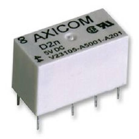 RELE ELECTROMAGNETICO MINI 12VCC / 3A - COIL 27OHM - 20,2x10x10mm (ABREPUERTAS FERMAX)