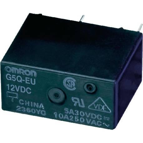 RELE ELECTROMAGNETICO MINI 12VCC / 10A - 20.3x10.3x15.8mm(PLACAS AIRE ACON) G5Q-14-EU-12DC