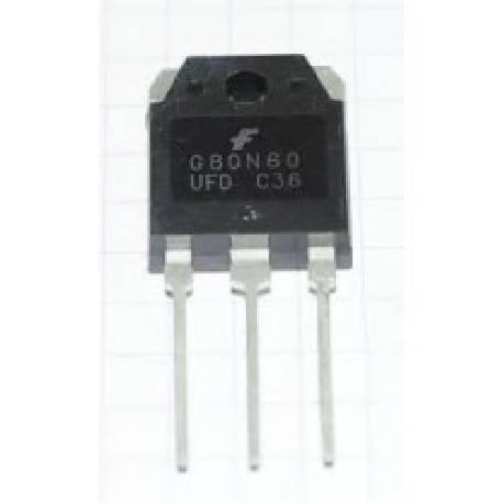 TRANSISTOR IGBT SGH80N60UFD 600V 80A TO-3P