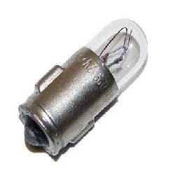 LAMPARA DE BAYONETA 12V - 100mA - DIAMETRO 6,6mm - BA7S