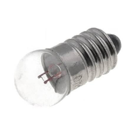 LAMPARA FILAMENTO 24V - 2.4W - E10 CILINDRICA 10X28mm
