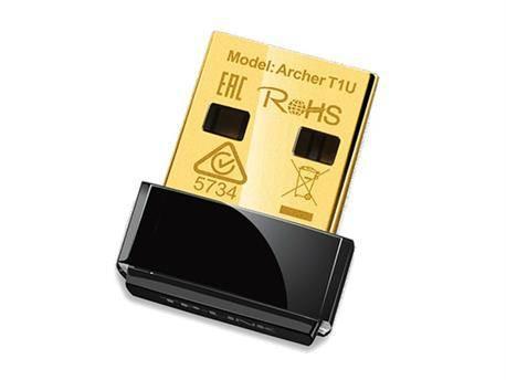 ADAPTADOR WIRELESS LAN USB NANO AC450 - TP-LINK - ARCHER T1U