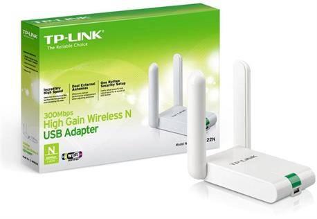 ADAPTADOR WIRELESS LAN USB 300M - TP-LINK - TL-WN822N