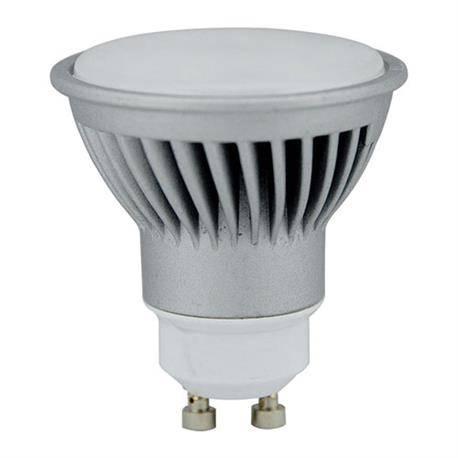 LAMPARA LED DICROICA ALUMINIO - GU10 - 7W - 5000K - LUZ FRIA