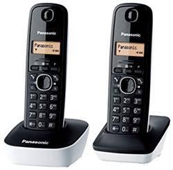 TELEFONO INALAMBRICO DUO PANASONIC KX-TG1612 - NEGRO