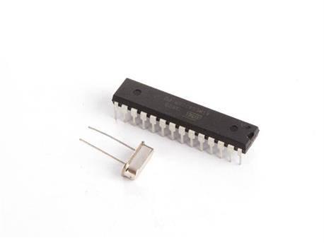 ATMEGA328P CI MCU CON BOOTLOADER ARDUINO® UNO Y OSCILADOR DE CRISTAL 16 MHz