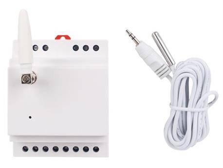 MODULO GSM PARA ACTIVACION REMOTA CON MONTAJE EN CARRIL DIN - 1 CANAL