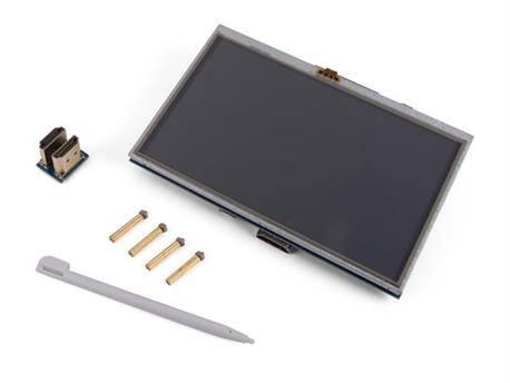 "PANTALLA TACTIL HDMI-B PARA RASPBERRY PI - 5"" - 800X480"
