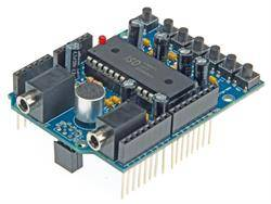 MODULO - SHIELD DE AUDIO - PARA ARDUINO UNO R3 - REPRODUCCION, GRABACION, ETC..