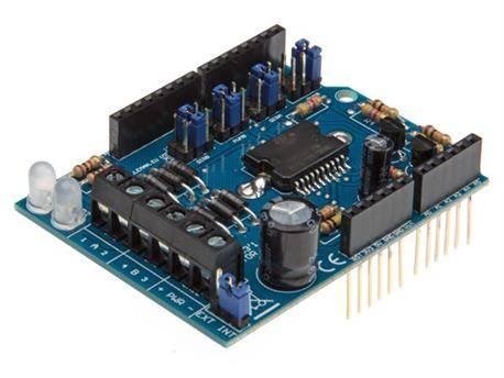 Modulo Shield De Motores Y Potencia Para Arduino Uno R3 Motor