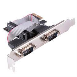TARJETA CONTROLADORA PCI-E - x2 PUERTOS RS232 / SERIE / D-SUB 9PIN