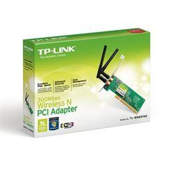 WIRELESS LAN PCI 300M TP-LINK TL-WN851ND + 2 ANTENAS