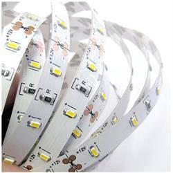 TIRA LED ECONOMICA 5 METROS 300 LEDS - SMD 3528 - BLANCO FRIO 6000K - 12VDC - 18W - IP20