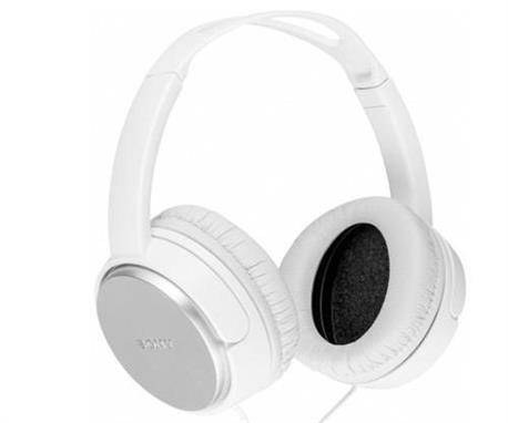 AURICULAR DE DIADEMA SONY 40mm - CABLE 2m - BLANCO