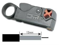 PELACABLES PARA CABLES TIPO RG - RG58 RG59 RG62 RG6 RG3C2V - DIAM 4 6 8 Y 12mm - GRIS