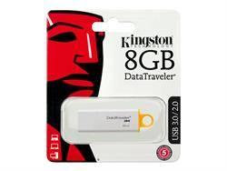 MEMORIA FLASH KINGSTON - PENDRIVE 8GB - USB3.0 USB 3.1 - BLANCO - DTIG4/8GB