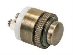 PULSADOR TIMBRE DE PRESION - IP65 - 2A 48VDC - ORIFICIO MONT 16mm - ALTA RESISTENCIA - NC