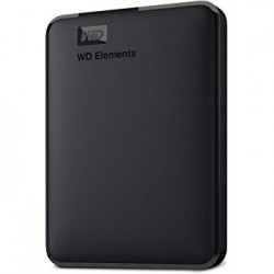 "DISCO DURO EXTERNO WD ELEMENTS - 2,5"" - USB 3.0 - 2TB - 110x82x15mm"