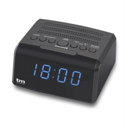 "RADIO DESPERTADOR - FM - DISPLAY 0,9"" - CON USB CARGA - ALARMA SLEEP / SNOOZE - REG INTENSIDAD"