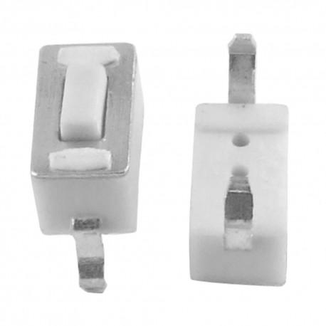 MICRO PULSADOR 2 PIN - 3x6X6mm - PCB -COMPATIBLE MANDOS GARAJE COCHE - MP3 MP4 MP5
