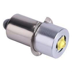 LAMPARA - BOMBILLA LED 3W - CASQUILLO P13.5S - VOLTAJE DE 4 a 12VDC - LINTERNAS, VARIOS