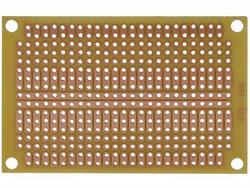 PLACA - LAMINA PROTOTIPO UNIVERSAL UNILATERAL 47x72mm - TOPOS Y FILAS - 417 PUNTOS DE 2,54mm
