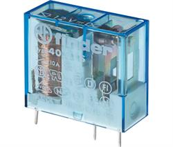 RELE FINDER 12VCC 10A - 1 CTO 3 PINES - 29x25x12,4mm