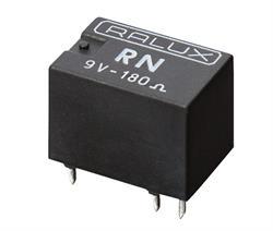 "RELE SUPER MINIATURA TIPO ""RN"" 3VCC 2A - 1CTO - 16x11,5x10,5mm"