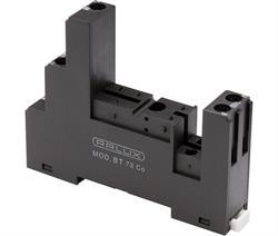BASE PARA RELES Z 1 CTOS 2+3 PINES PASO 3,5mm - CARRIL DIN - CONEXION TORNILLO