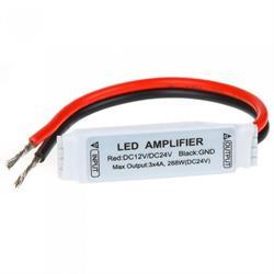 AMPLIFICADOR PARA TIRAS LED RGB - 12V 4A 144W- 2A POR CANAL - ANODO COMUN (+) - IP63