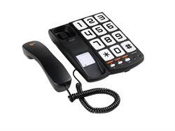 TELEFONO SOBREMESA TOPCOM - TECLAS GRANDES - COMPATIBLES CON AUDIFONOS - 3 MEMO DIRECTAS