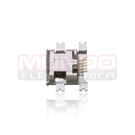 CONECTOR MICRO USB - 5 PINES - SMD 4 PATILLAS A 10.9mm TIPO 1