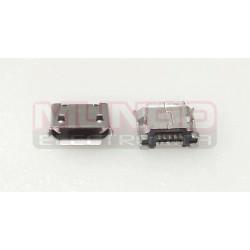 CONECTOR MICRO USB - 5 PINES CORTO - ANCLADO 2 PATILLAS A 5.35mm TIPO 1