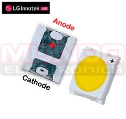 LED SMD 2835 BLANCO 3V - 3,7V 240mA - 1W - 3,5x2,8x0,8mm - REPARACION BACKLIGHT LG INNOTEK