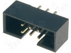 CONECTOR IDC 8 PIN MACHO - RASTER CONTACTOS 2,54mm - RASTER CINTA 1,27mm - PARA PCB