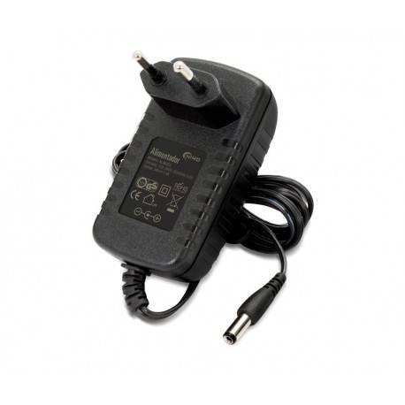 ALIMENTADOR ELECTRONICO NIMO 100-240V SALIDA 24V / 1A 24W - JACK 5,5 x 2,1 x 12mm