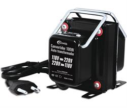 CONVERTIDOR AUTO TRANSFORMADOR AC - AC - 220V A 110V o 110V A 220V ---- 100W - 100,0x83,0x68,0mm