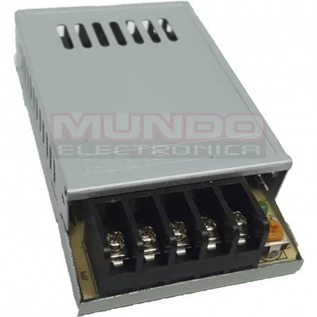 FUENTE DE ALIMENTACION ME ENTRADA 100-240VAC - 12VDC / 2A - 24W - 77x48x20mm - LED
