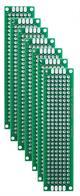PLACA DE CIRCUITO IMPRESO PCB - DOBLE CARA - PERFORADA - FR4 - 20x80mm