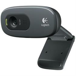 WEBCAM LOGITECH C270 - HD - HASTA 1280x720 - 3 MPX - USB 2.0 - NEGRO