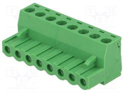 BLOQUE DE BORNAS DESMONTABLE - ENCHUFE HEMBRA - 5,08mm / 2,5mm2 - 8 PIN