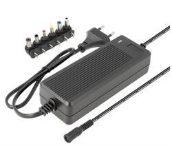 ALIMENTADOR ELECTRONICO UNIVESAL REGULABLE - MANUAL - DE 9 a 24VCC - 24W - 3,3A - 6 CONECTORES