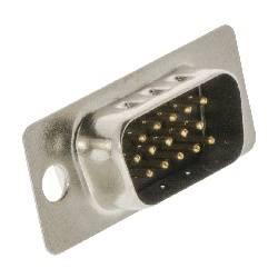 CONECTOR D-SUB [DB15 / VGA] MACHO 15 PIN