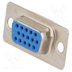 CONECTOR D-SUB [DB15 / VGA] HEMBRA 15 PIN