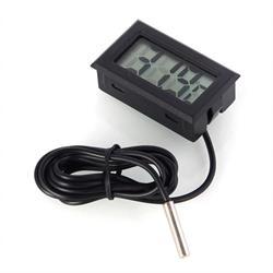 TERMOMETRO DIGITAL - SONDA 1 METRO - DE -50°C a 110°C - 48x29x16mm