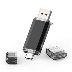 MEMORIA FLASH - PENDRIVE 16GB USB TIPO A 3.0 - USB TIPO C