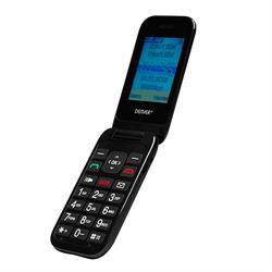 TELEFONO MOVIL ESPECIAL PARA PERSONAS MAYORES - TECLAS GRANDES - NEGRO - ESPAÑOL