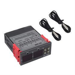 CONTROLADOR DE TEMPERATURA DIGITAL DOBLE A RELE - 230VCA - RANGO TEMP -55º A 120º